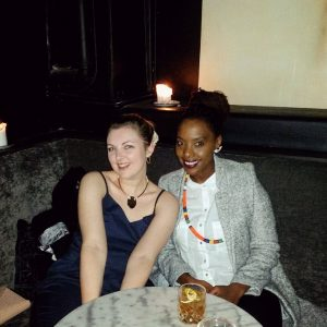 Aimee and Refiloe at Speakeasy